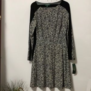 NWT LAUREN RALPH LAUREN DRESS SIZE 14